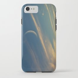Crescent Moon At Sunset iPhone Case