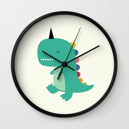 Dinocorn Wall Clock