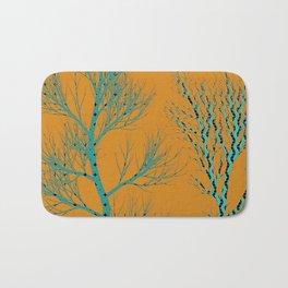 The Golden Hour tree art Bath Mat