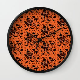 Halloween House Wall Clock