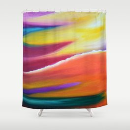 Celestial Clouds Shower Curtain