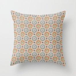 Floor Series: Spanish Tiles 75 Throw Pillow