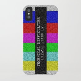 Technical Difficulties iPhone Case