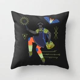 Witch Series: Magic Wand Throw Pillow