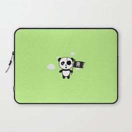 Panda Pirate with Flag T-Shirt for all Ages Da19o Laptop Sleeve
