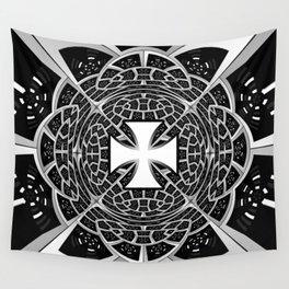 Cross pattée Wall Tapestry