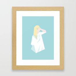 Polygirl Framed Art Print