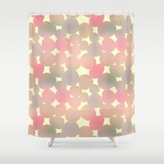 ombre pebbles Shower Curtain