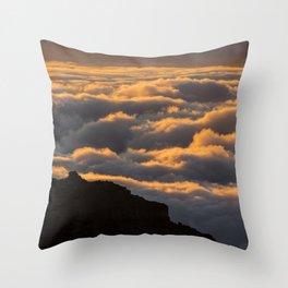 Sunset in La Palma Throw Pillow