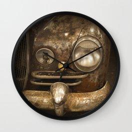 Rusty Car Wall Clock
