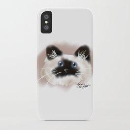 Crazy Siamese iPhone Case