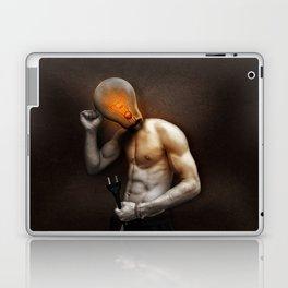 Fantasy Light Bulb Glow Lamp Human Head Laptop & iPad Skin