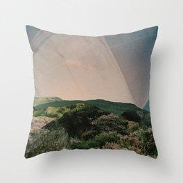 Sky Camping Throw Pillow