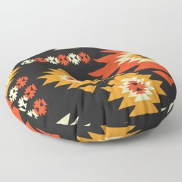 Native geometric shapes Floor Pillow