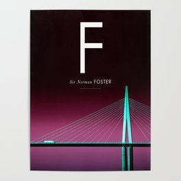 Iconic Architects: Foster Poster