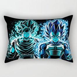 Blue God Warriors Rectangular Pillow