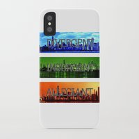 divergent iPhone & iPod Cases featuring Divergent by All Things M