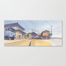 Enoden sketch Canvas Print