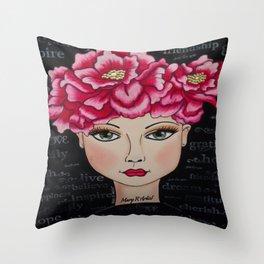 MARIBE Throw Pillow