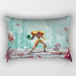 Metroid Rectangular Pillow