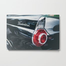 Darkest Thunderbird Metal Print