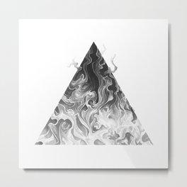 Elemental Alchemy: Fire Metal Print