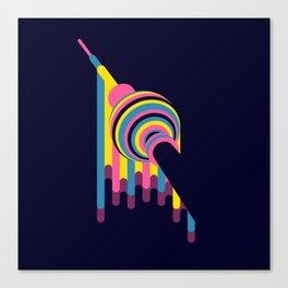 Lollipop Tower Canvas Print