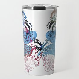 Folk Billows Travel Mug