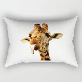 Fanny giraffe Rectangular Pillow