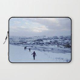 Walking down Iceland Laptop Sleeve