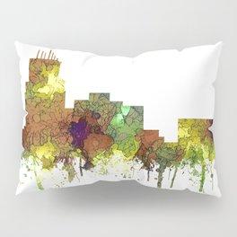 Durham, NC Skyline SG - Safari Buff Pillow Sham