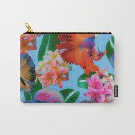 Hawaiian Print III Carry-All Pouch