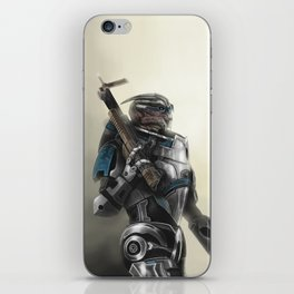 A busy Turian iPhone Skin