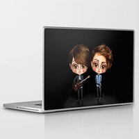 tegan and sara Laptop & iPad Skins featuring Tegan and Sara by Joana Pereira