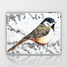 Chickadee Hole Punch Laptop & iPad Skin
