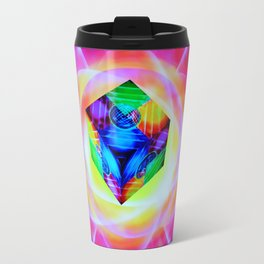 Abstract perfection - Cube Travel Mug