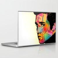 elvis presley Laptop & iPad Skins featuring Elvis Presley by mark ashkenazi