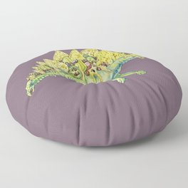 Nacho Stegosaurus  Floor Pillow