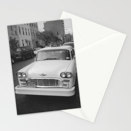 That's Classic Black and White Car Photography Stationery Cards