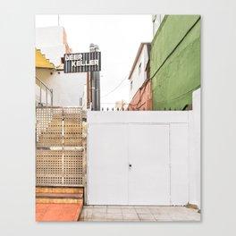 Urban Tetris Canvas Print