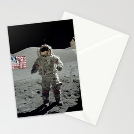 Apollo 17 - Last Man On The Moon Stationery Cards
