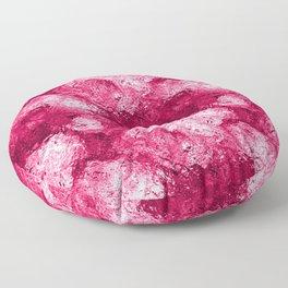 Neon Pink Metallic Patchwork Foil Floor Pillow