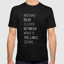 Lines / First Version / Mono T-shirt