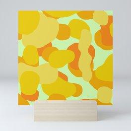 Warm and Cool Tone Terrazzo Mini Art Print