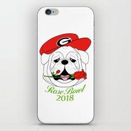 UGA Rose Bowl Bulldog iPhone Skin
