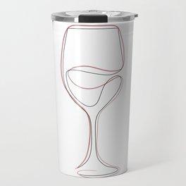 In wine we trust Travel Mug