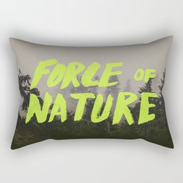 Force of Nature x Cloud Forest Rectangular Pillow