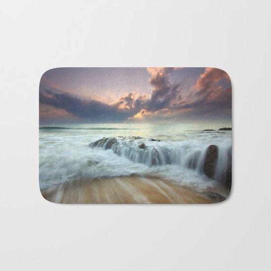 Sunrise sea sky 4 Bath Mat