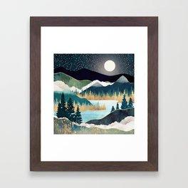 Star Lake Framed Art Print