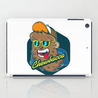 chewbacca iPad Cases featuring Chewbacca Hipster  by Redwane